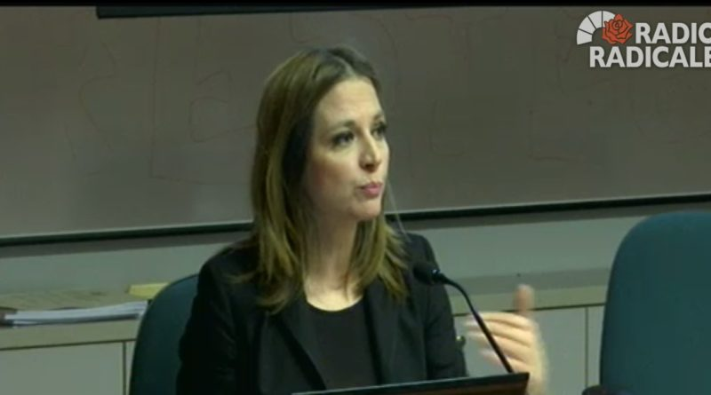 Vivere e morire tra sacralità religiosità e laicità - Interviene Maria Antonietta Farina Coscioni, Presidente dell'Istituto Luca Coscioni.