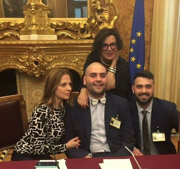 Presentazione del libro «Sapori a colori» di Paolo Palumbo e Luigi Pomata (Edizioni Arkadia) presso La Camera dei Deputati.